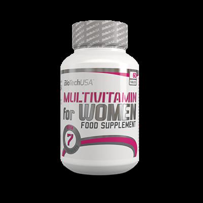 Multivitaminico mujer BiotechUSA