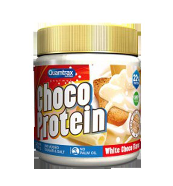 Crema de chocolate blanco - choco protein de quamtrax